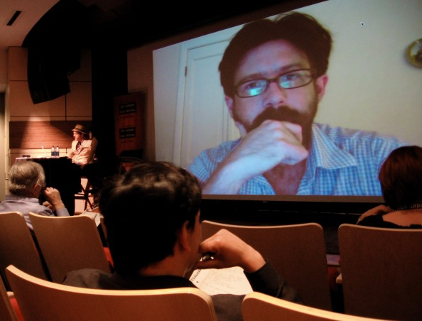 LAFF DIY(symposium), Thomas Woodrow, Producer, Bass Ackwards, skype, LAFF, Los Angeles Film Festival