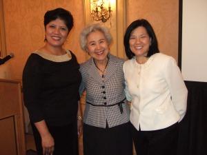 Marilyn Mesina, Lucila Dypiangco, Edna Concepcion