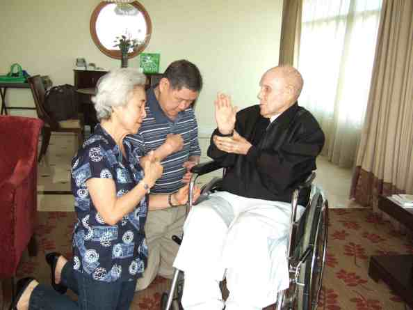 Fr. Reuter, Oscar Dypiangco, Lucila Dypiangco, Home Unknown, Filipino, documentary, Ascott, Makati, Philippines