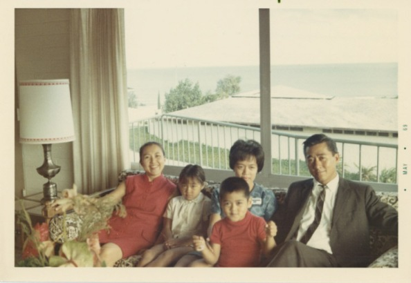 Lucila with Lilly's Family, Home Unknown, Dypiangco